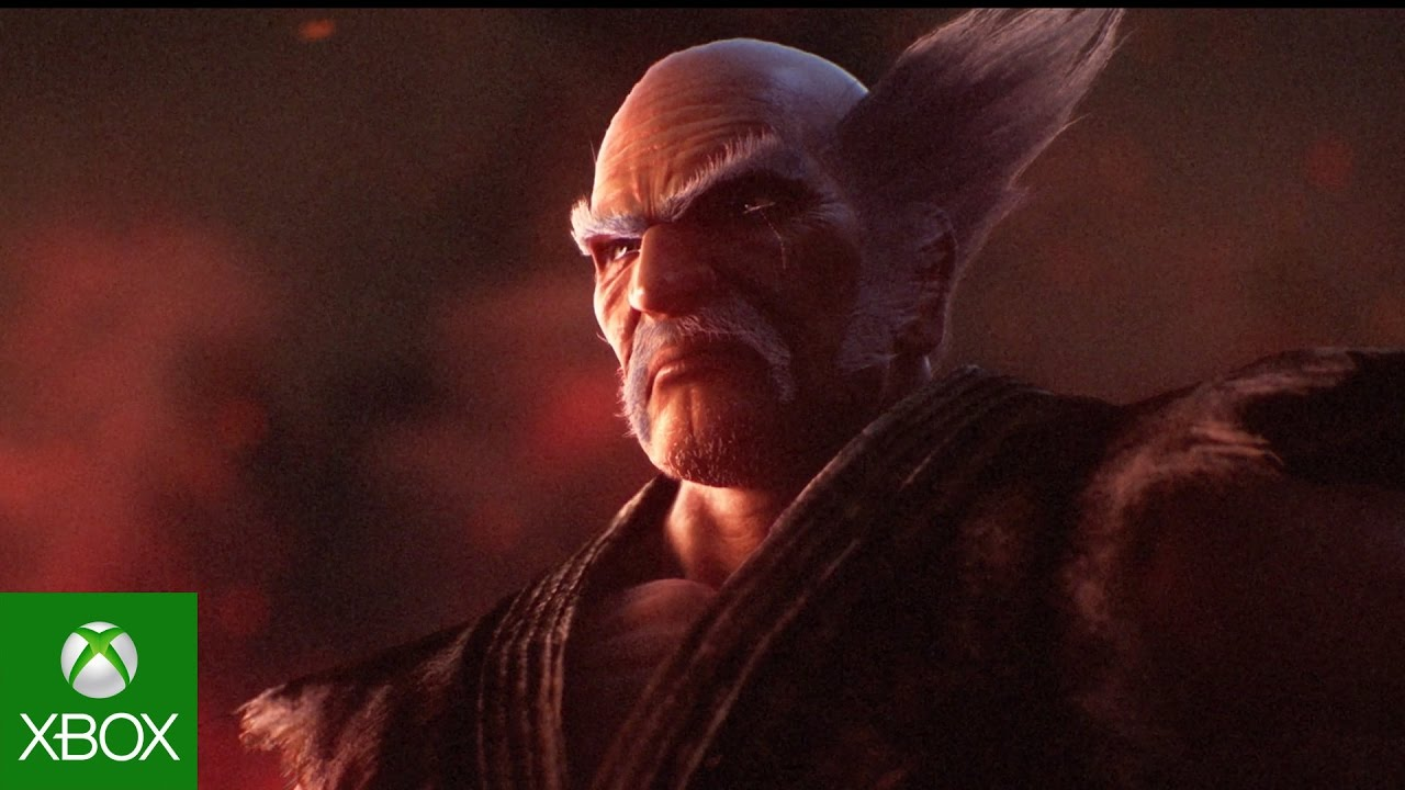 Close up of Heihachi