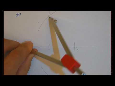 Winkelkonstruktionen mit dem Zirkel