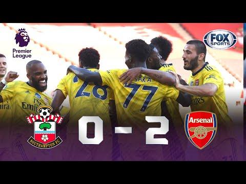 FALHA BIZARRA NA PREMIER LEAGUE! Veja os Melhores Momentos de Southampton 0 X 2 Arsenal