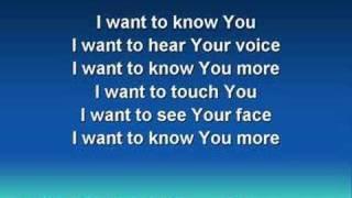 In the Secret (worship video w/ lyrics)