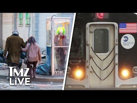 [TMZ]  'Joker' Movie: On Set Disaster With Extras