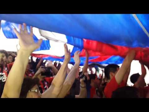 """""""Cerro porteño vs atletico nacional // recibimiento // copa sudamericana"""" Barra: La Plaza y Comando • Club: Cerro Porteño • País: Paraguay"""