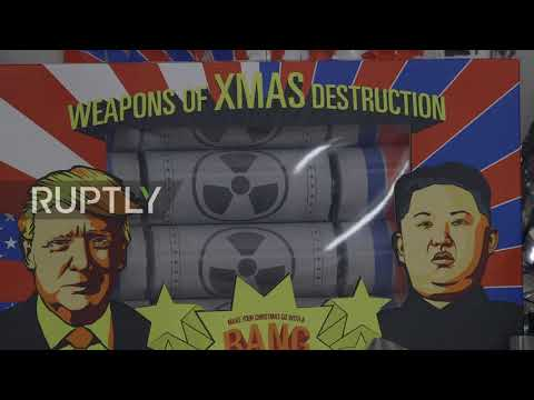 Weapons of Xmas Destruction! - Trump crackers go nuclear for Christmas!