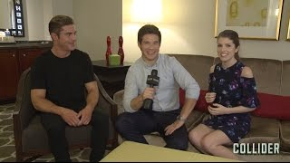 Anna Kendrick Zac Efron And Adam Devine Get NSFW Talking About 'Mike And Dave Need Wedding Dates'