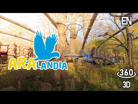 Aralandia - A wedding aviary for macaws - [360° 3D VR in English]