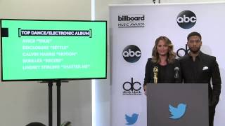 Top Dance/Electronic Album Finalists - BBMA Nominations 2015