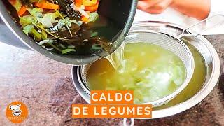 #21 - Como Fazer um Caldo de Legumes