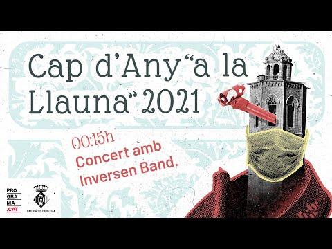 """Cap d'Any """"a la llauna"""" 2021 - Concert amb INVERSEN BAND"""
