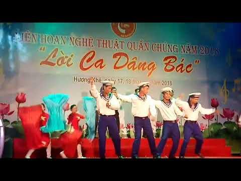 Tổ Quốc Nhìn Từ Biển, tiết mục chọn lọc vào đêm công diễn Liên hoan nghệ thuật quần chúng huyện Hương Khê 2018, đơn vị xã Phương Mỹ