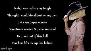 Sia, David Guetta & Afrojack - HELIUM (Lyrics)