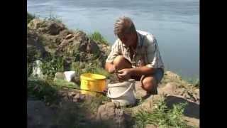 Смотреть онлайн Ловля рыбы на донную снасть на течении
