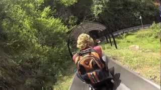 Video : China : The Great Wall at MuTianYu 慕田峪 luge slide