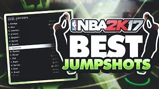 BEST JUMPSHOTS IN NBA 2K17 ! GREEN LIGHTS  BEST JUMPSHOT NEVER MISS • DEMIGOD JUMPSHOTS !