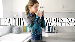MY HEALTHY MORNING ROUTINE + WORK OUT ROUTINE | Lydia Elise Millen | Ad
