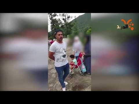 شاهد بالفيديو.. عوائل من البصرة تتُرك في ايران بعد هروب الشركة السياحية #المربد