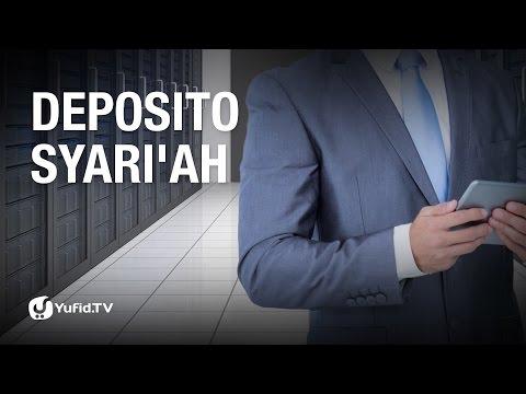 Tanya Jawab: Deposito Syari'ah - Ustadz Ammi Nur Baits