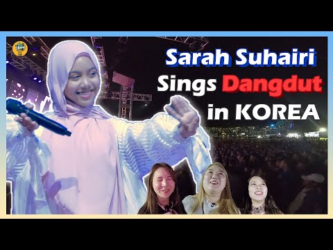 Artis Malaysia menyanyi dangdut di hadapan makcik dan pakcik Korea [Trail to Busan] EP02