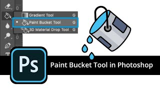 How to use the Paint Bucket Tool in Photoshop + Common Problems (HOW TO FIX)