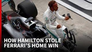 How Hamilton stole Ferrari