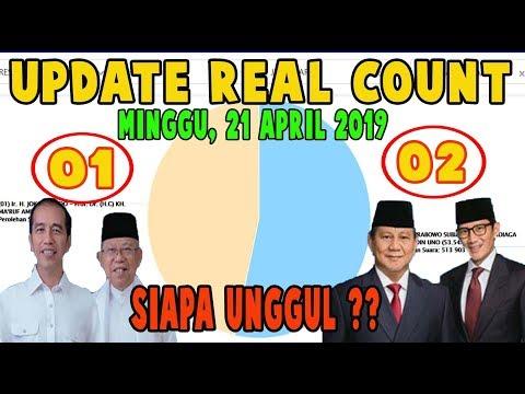 MENGEJUTKAN!!! UPDATE TERBARU REAL COUNT KPU SUARA PILPRES 2019 ~ SIAPA UNGGUL JOKOWI ATAU PRABOWO