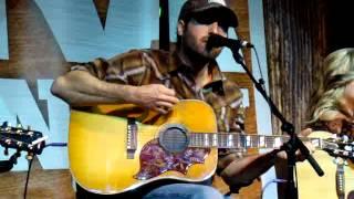 "Josh Thompson ""Blame It On Waylon"" at the NRA Country Fan Club Party"