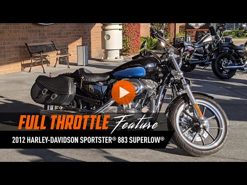 2012 Harley-Davidson Sportster® 883 SuperLow® in Mentor, Ohio - Video 1