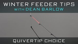 Winter Feeder Tips With Dean Barlow - Quivertip Choice