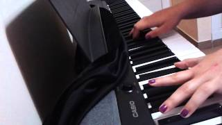 All of me - John Legend | Piano cover by Elisa Serrano (only chords)