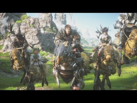 Final Fantasy XIV A Realm Reborn EU (PS3)