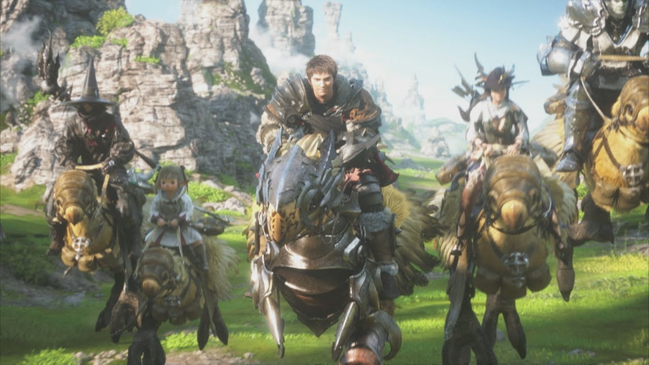 New Final Fantasy XIV Opening Is A Ball Of Fire And Pretty Pictures