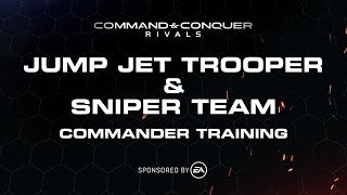 Command & Conquer Rivals - Commander Training: Jump Jet Troopers & Sniper Team