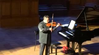 """Ysaye Violin Sonata No. 3 """"Ballade""""  Maxim Vengerov Максим Венгеров (скрипка)"""