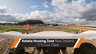 Kotaha Housing Zone | FPV Remote Control Rally Racing | RCRO003