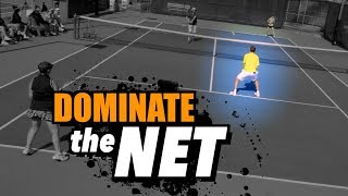 How To DOMINATE The Net In Doubles   Tennis Lesson