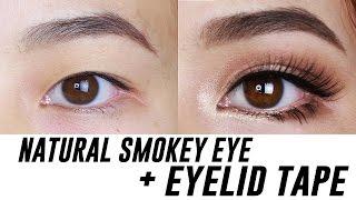 Smokey Eye Makeup For Small/ Hooded/ Monolid Eyes | Tina Yong