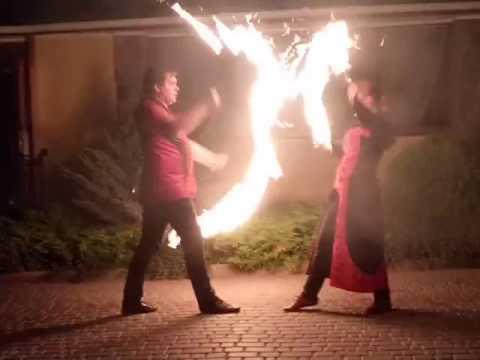 """Фаєр шоу на весілля \\театр вогню """"Fire Dance"""", відео 2"""