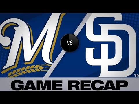 Reyes, Hosmer power Padres past Brewers | Brewers-Padres Game Highlights 6/19/19