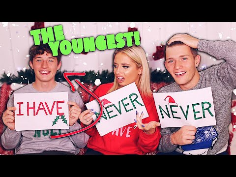 NEVER HAVE I EVER WITH MY BROTHERS!! 😱 CHRISTMAS EDITION!