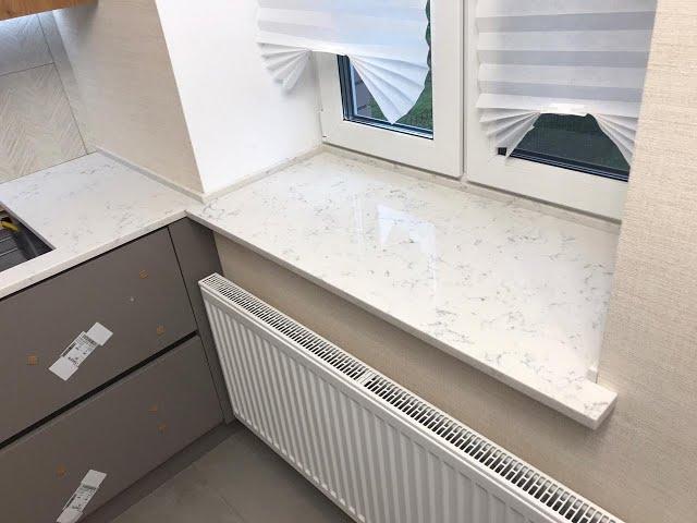 Столешница-подоконник на кухню из кварцевого агломерата Avant Quartz 2015 Франш-Конте