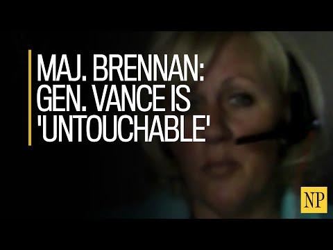 Gen. Jonathan Vance is 'untouchable,' Maj. Kellie Brennan says