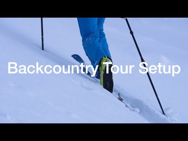 My Medium Weight Backcountry Ski Touring Setup
