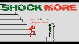 Shock More - Rojo vs Verde [STICK FIGHT] (Animation Flash)