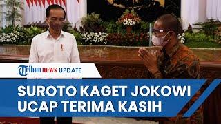 Suroto Kaget Jokowi Berterimakasih saat Ia Minta Maaf, Kurung Diri Sepekan setelah Bentang Poster