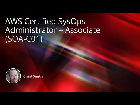 AWS Certified SysOps Administrator – Associate (SOA-C01 ...