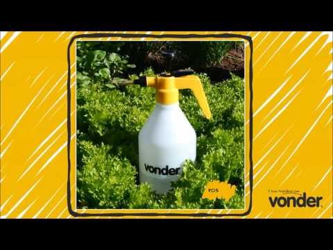 Pulverizador manual de compressão prévia 1,5 litros Vonder
