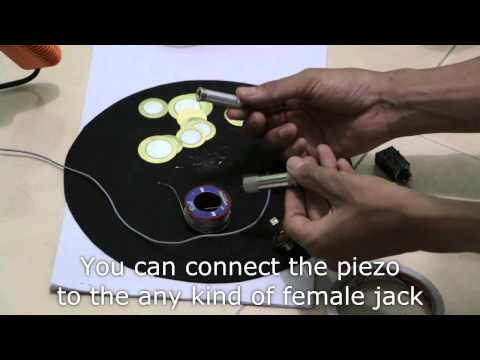 How to Make DIY eCymbal Pads from Plastic Plate for Electronic Drums
