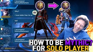 [Chapter.2] Pro Tips Exposed, Marksman Solo Rank Guide Legends to Mythic