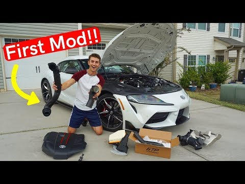 NEW SUPRA Gets Its First Performance MOD!! *Charge Pipe Install*