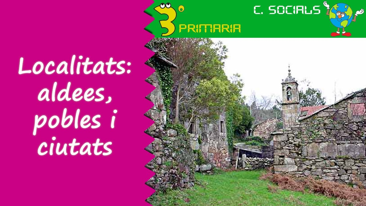 Ciències Socials. 3r Primària. Tema 2. Les localitats: aldees, pobles i ciutats