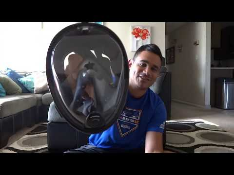 The best snorkel mask you should have SEGMAR SEAVIEW full snorkel mask review 2017
